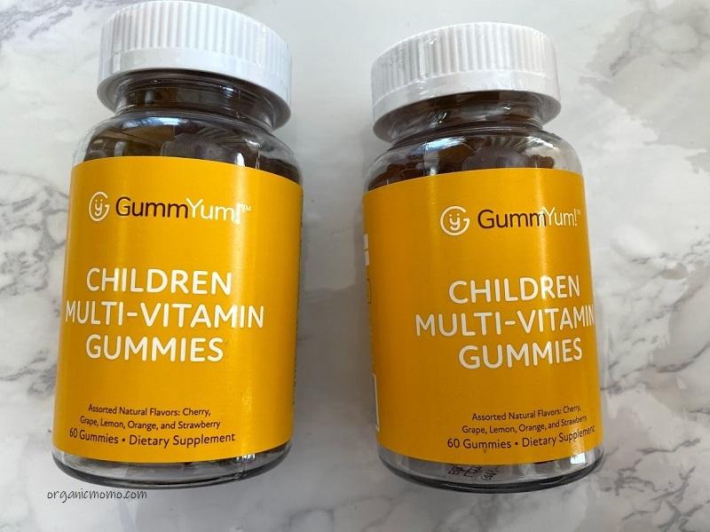 GummYum!, 子ども用マルチビタミングミ、天然香料アソート、グミの画像