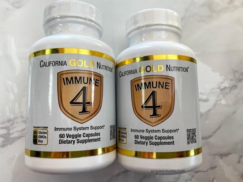 California Gold Nutrition, Immune4(イミューン4)の画像