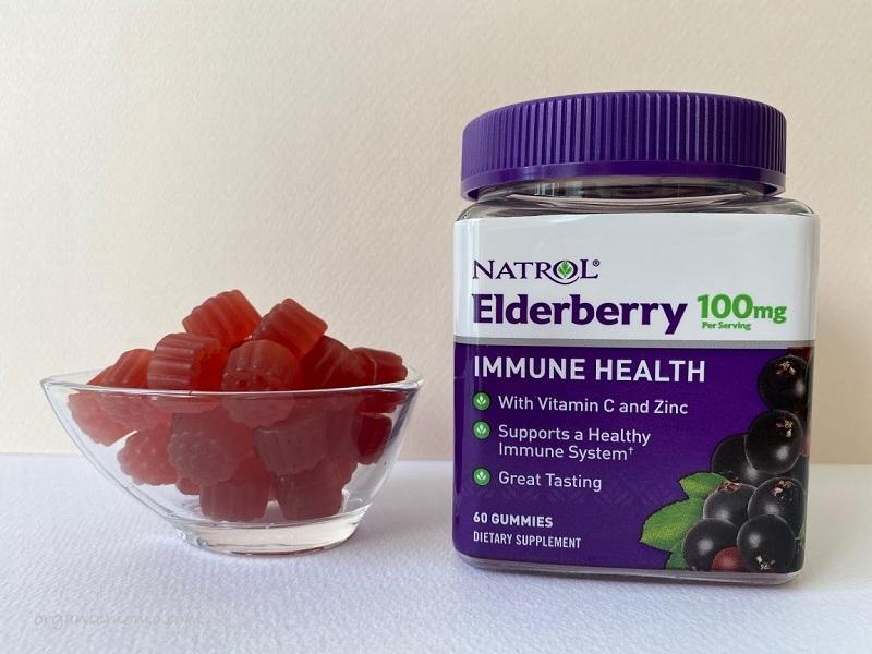 Natrol Elderberry Gummiesの画像