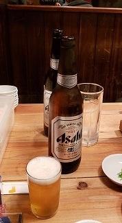瓶ビール2本目ふるかわ20181223