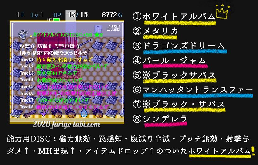 ディアボロの大冒険 能力用DISC ホワイトアルバム min