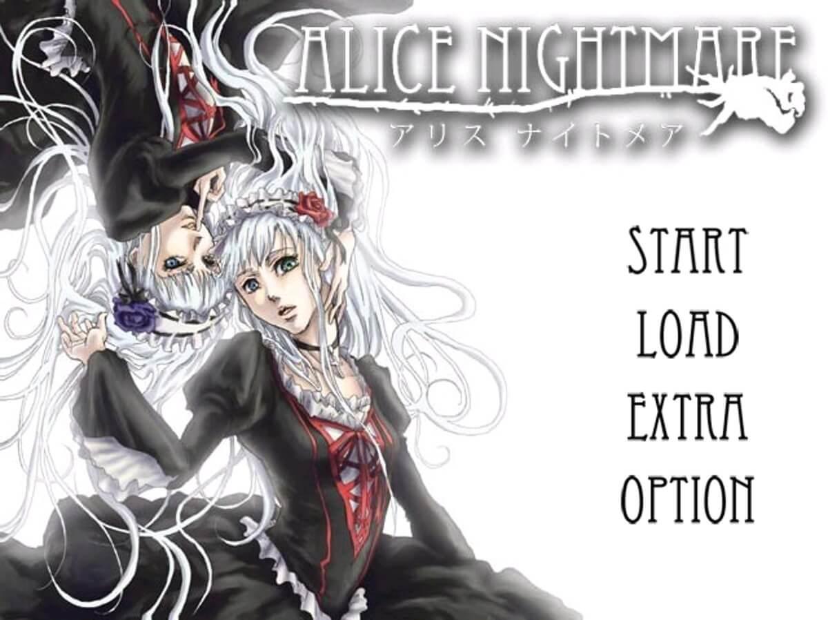 AliceNightmare スクショ タイトル画面