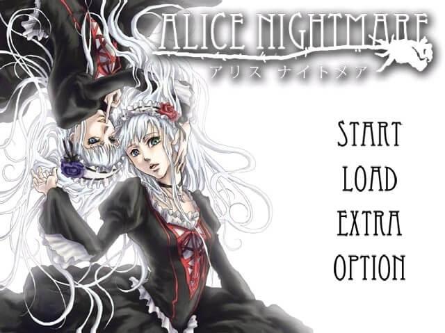 AliceNightmare スクショ タイトル画面 min