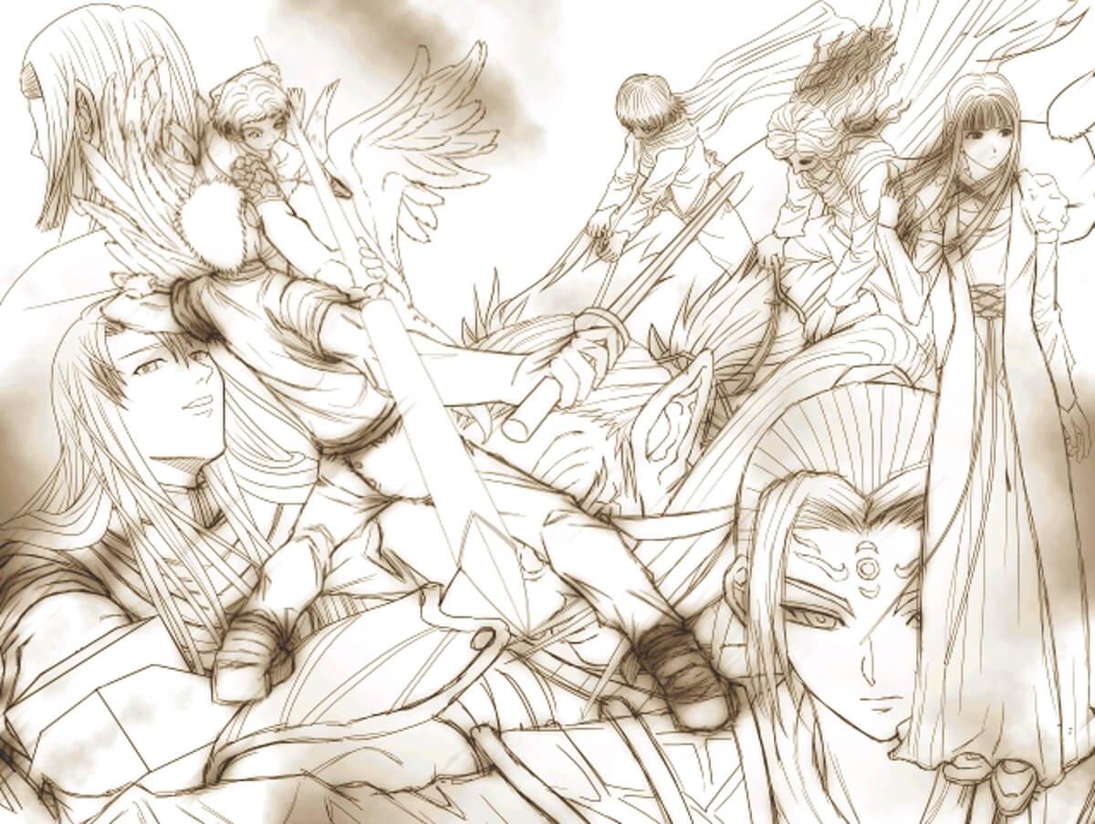 グレイメルカ スクショ 第4章 帝国大乱 カットイン