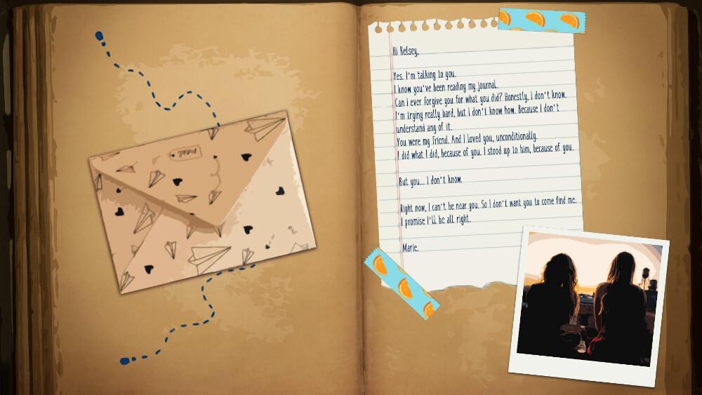 Maries room スクショ マリーの日記