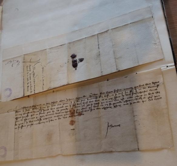 2018オルレアン手紙の写本