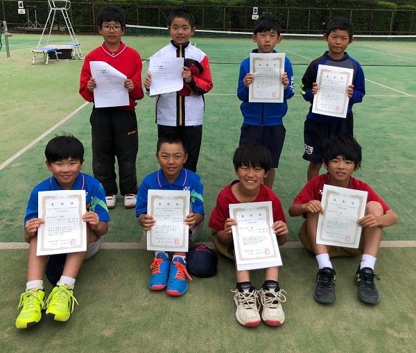 関東予選0505低男1~4位入賞者