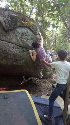 ハンバーグ岩