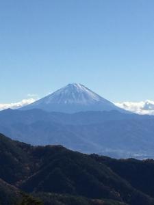 龍脈 昇仙峡からの富士