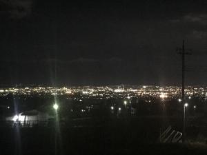 御坂からの夜景