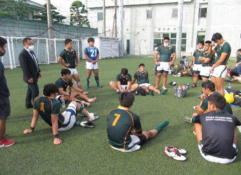 令和2年11月1日大阪教育大学ラグビー部⑥