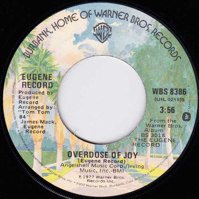 Eugene Record / Overdose of Joy