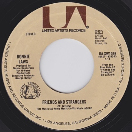 Ronnie Laws / Friends and Strangers