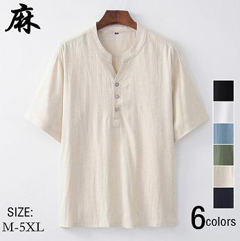 リネンTシャツ01