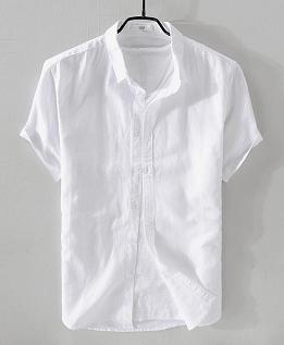 麻シャツ2