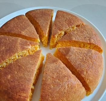 にんじんホットケーキ