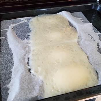 ヘルシオオーブンで餅