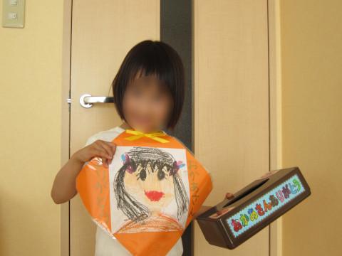幼稚園の作品収納