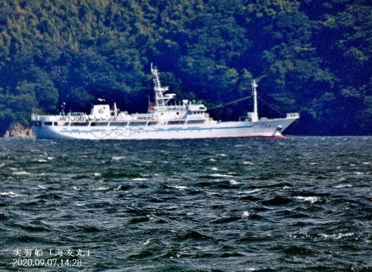 P1080607★漁業実習船「海友丸」★