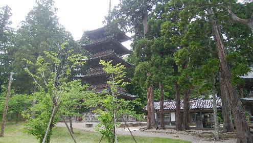 善宝寺五重塔