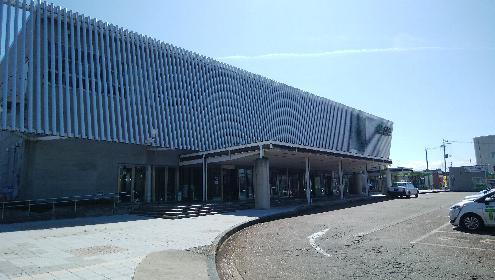 朝の大曲駅