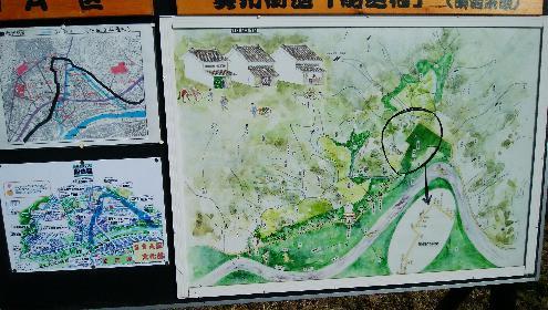 船迫宿の地図