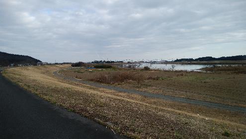 阿武隈川と奥州街道