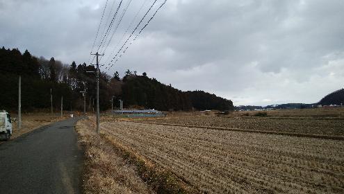小田の里付近