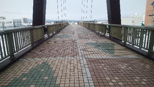 青森の陸橋