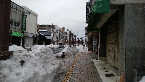 一関市大町の奥州街道