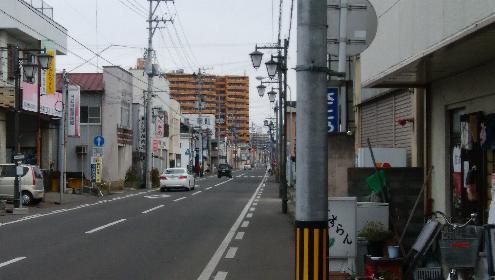 上浜町の奥州街道
