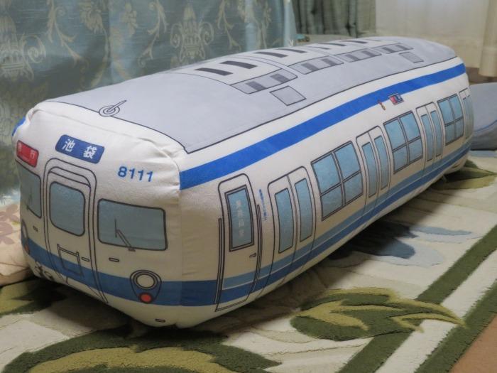 電車の抱き枕