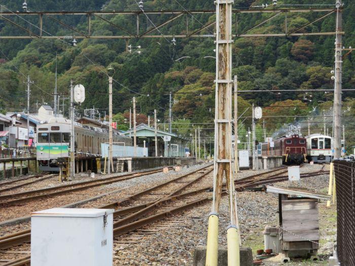 秩父鉄道の末端・三峰口駅
