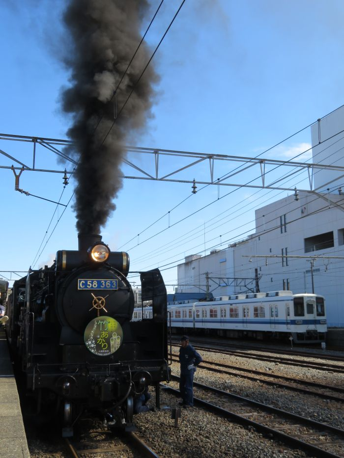 寄居駅にてリベンジ