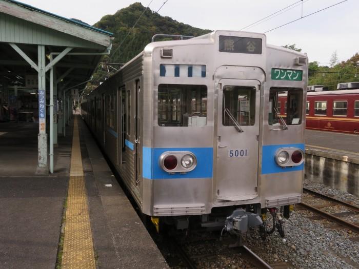 上り電車「熊谷」行き