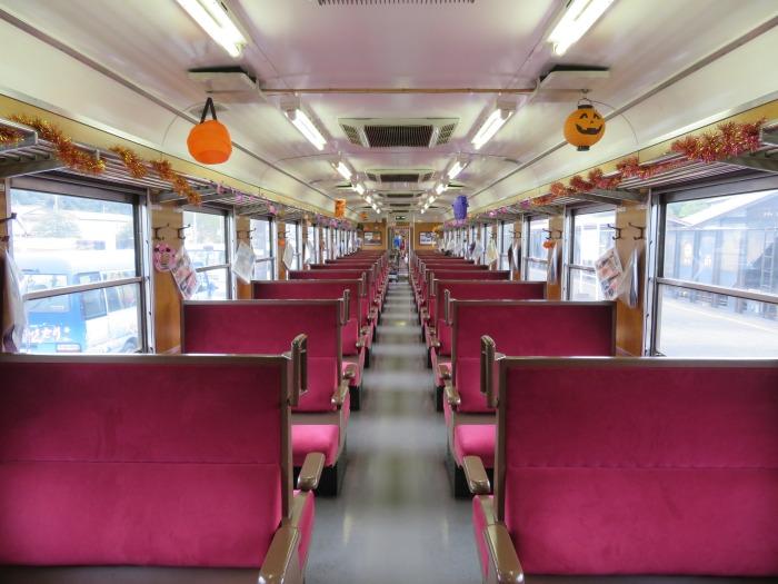 パレオエクスプレス客車内