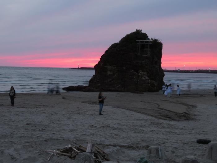 稲佐の浜のサンセット