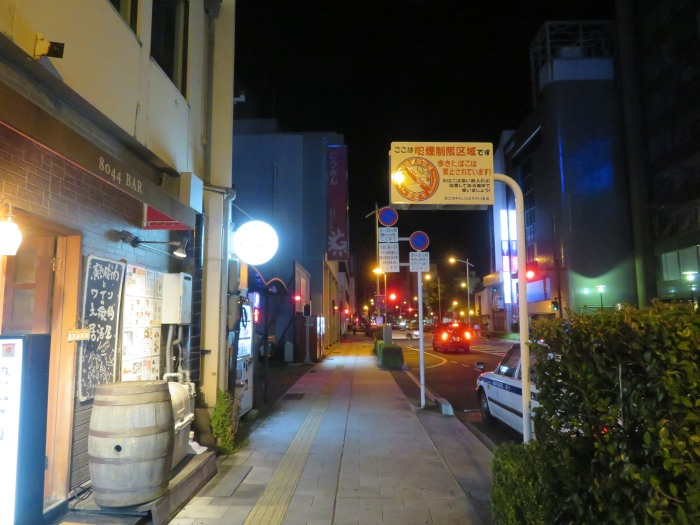 松江市街地