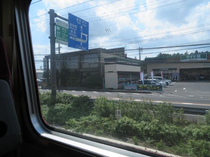 車窓の景色