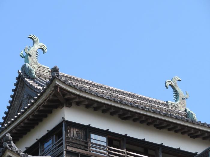 てっぺんにある鯱