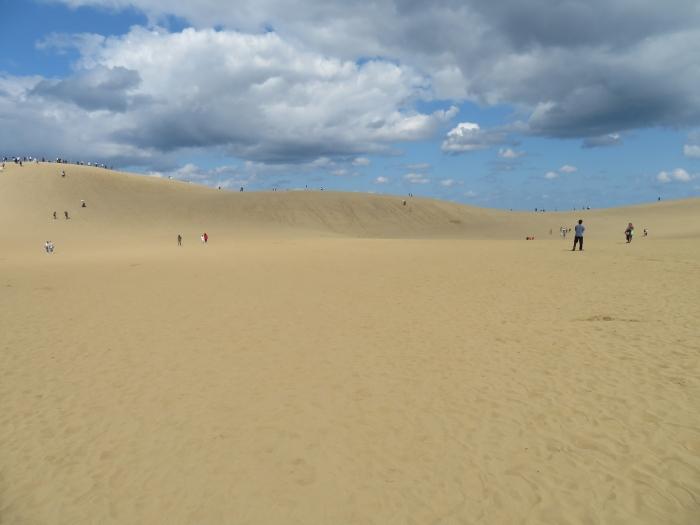圧巻の砂場