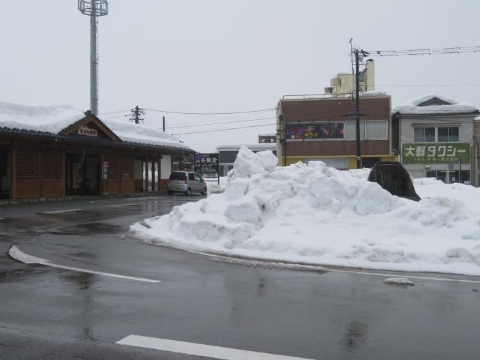 越前大野駅前