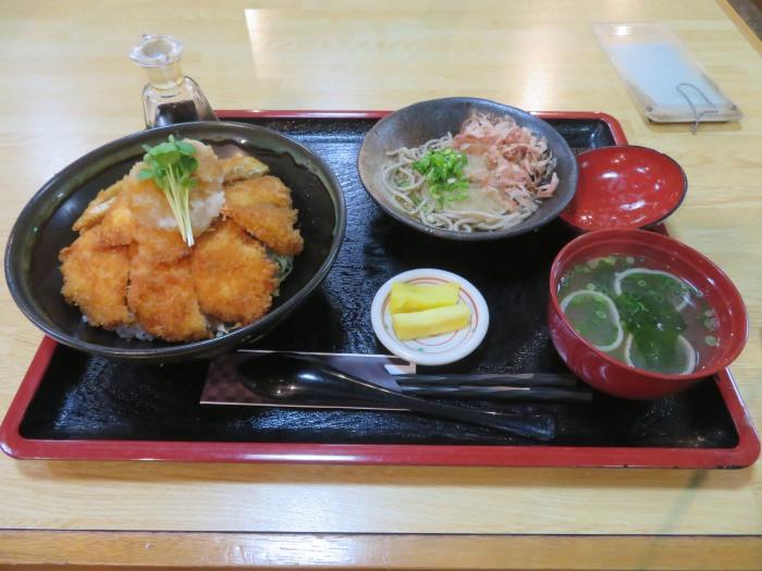 チキン醤油カツ丼セット