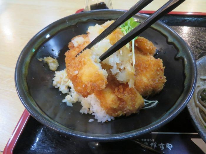 チキン醤油カツ丼