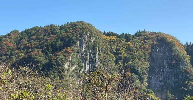 ひびき渓谷 紅葉