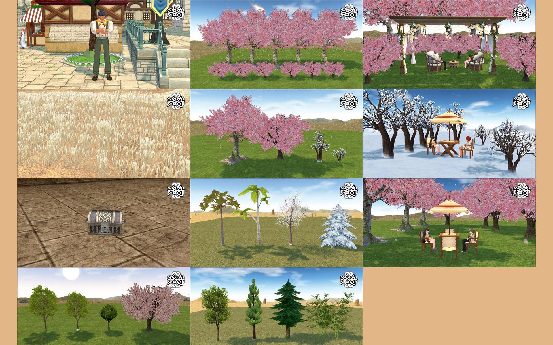 ハーモンの桜の木(中国)