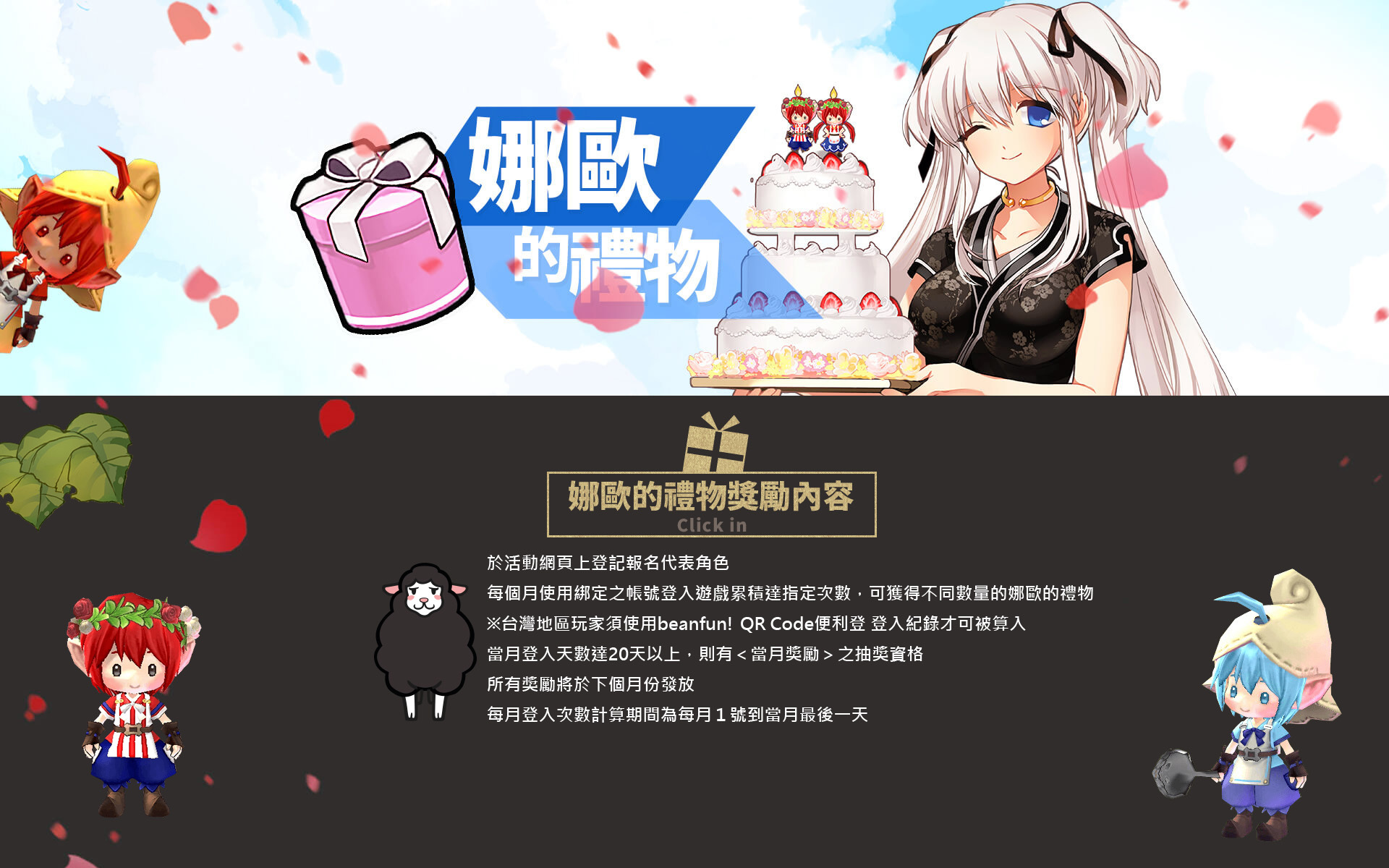 ナオからのプレゼント・台湾