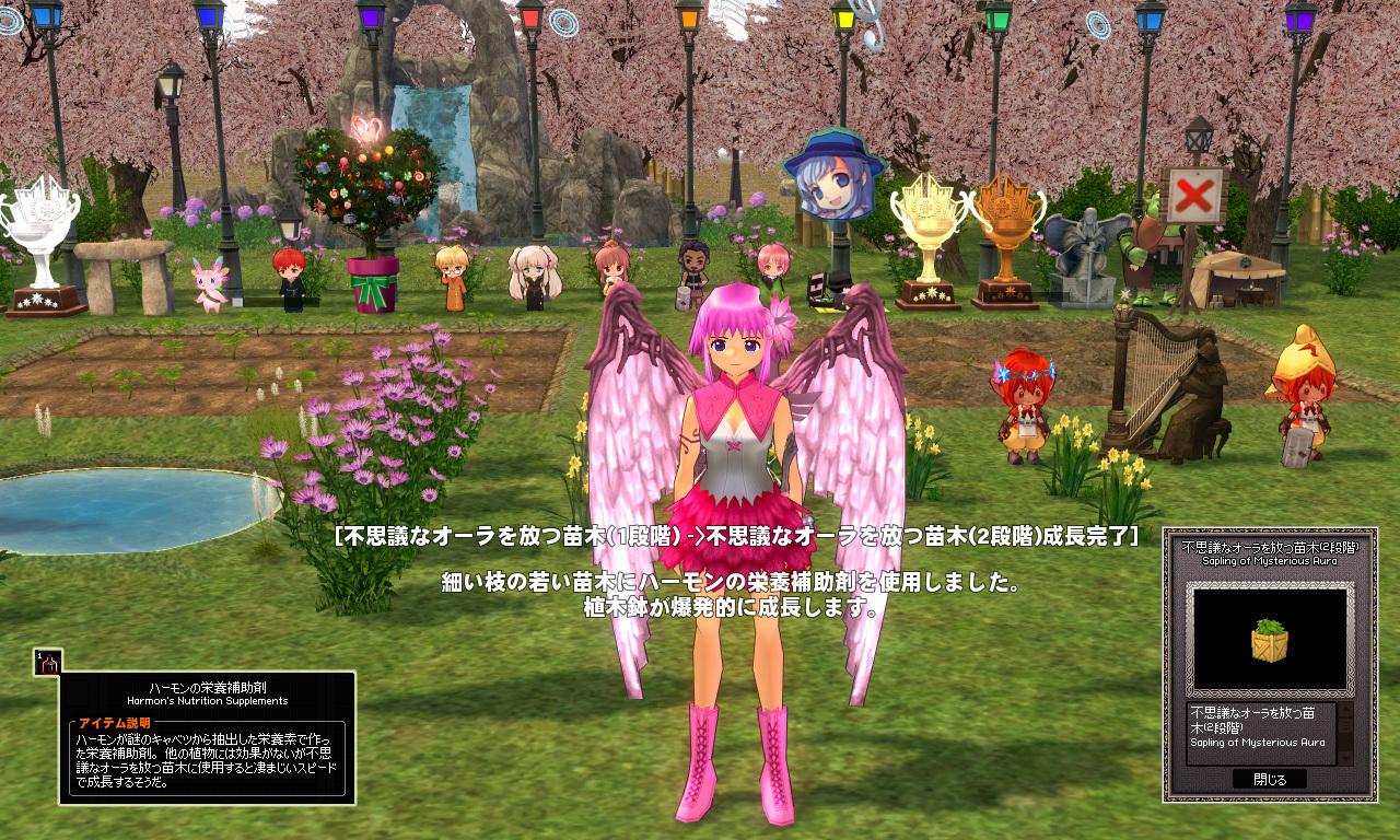 ハーモンの桜の木イベント09