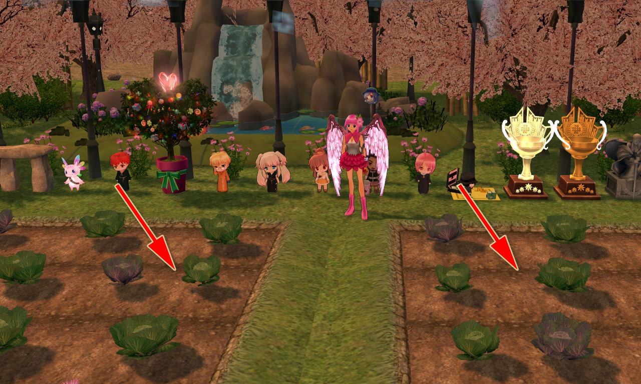 ハーモンの桜の木イベント10