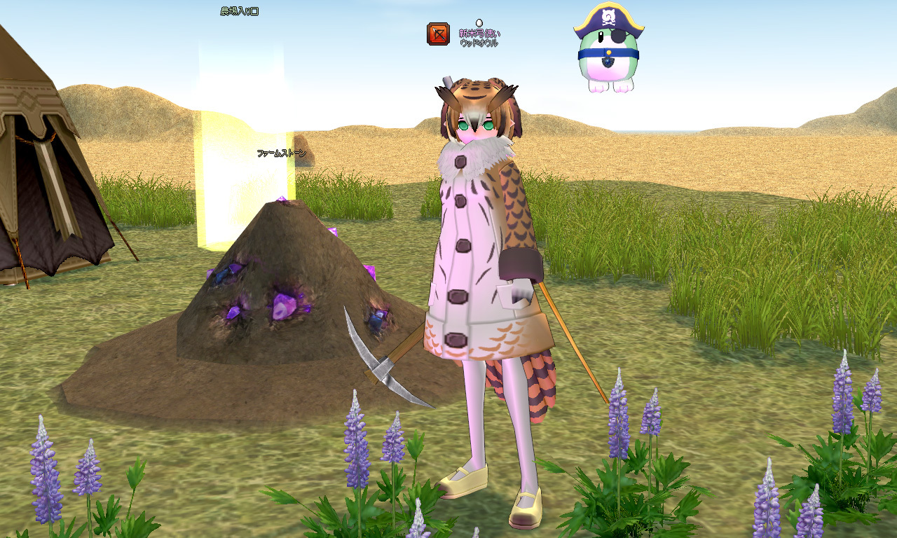 ワシミミズクの衣装1